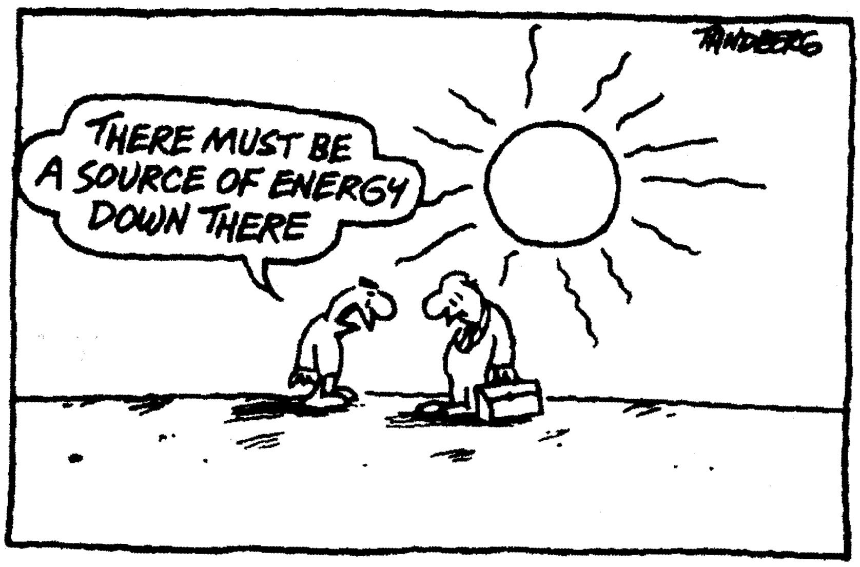 Solar power energy cartoon funny